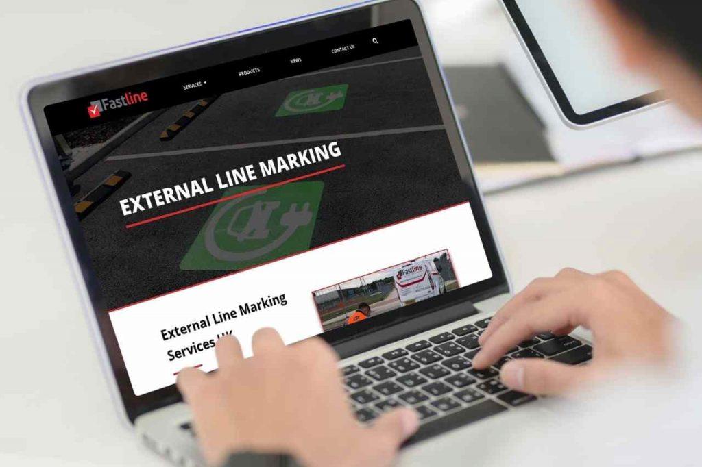 external line marking fastline